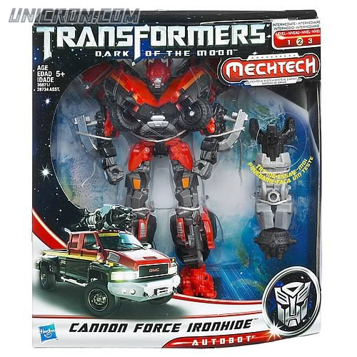 Transformers 3 Dark of the Moon Cannon Ironhide (voyager) toy