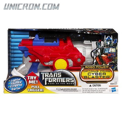 Transformers 3 Dark of the Moon Optimus Prime Cyber Blaster toy
