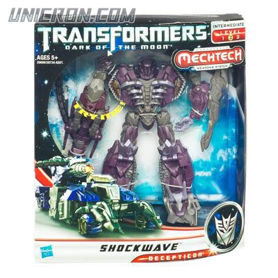 Transformers 3 Dark of the Moon Shockwave toy