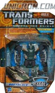 Transformers Reveal The Shield Bodyblock (unreleased) toy