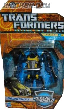 Transformers Reveal The Shield Downshift (unreleased) toy