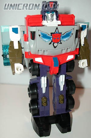 Transformers Machine Wars Optimus Prime toy