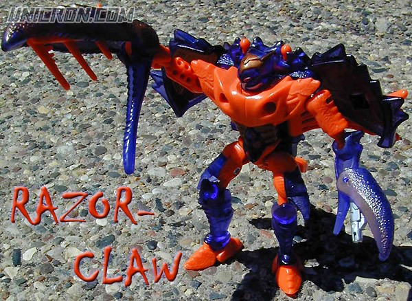 Transformers Beast Wars Razorclaw toy