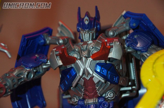optimus prime leader class instructions