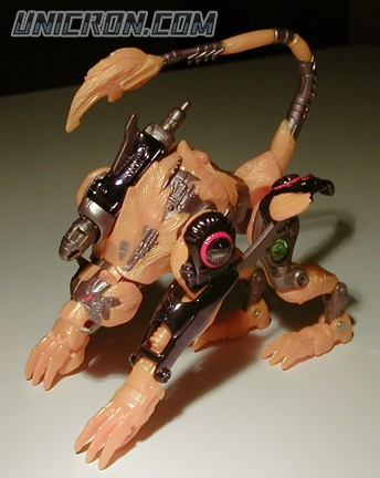 Transformers Beast Wars Transmetal 2 Cheetor toy