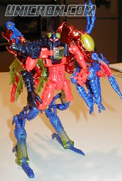 Transformers Beast Wars Scourge (Transmetal 2) toy