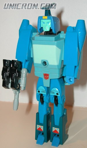 Transformers Generation 1 Blurr (Targetmaster) with Haywire toy