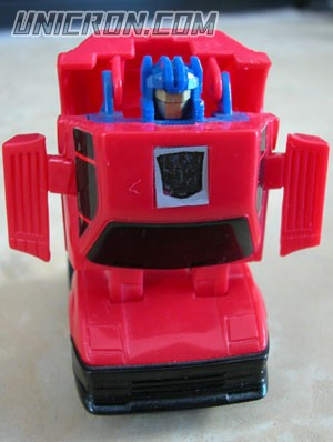 Transformers Generation 1 Chase (Throttlebot) toy