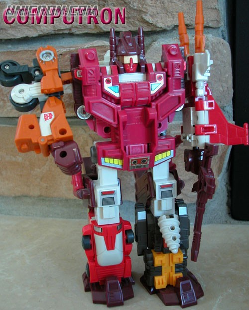 Transformers Generation 1 Computron toy