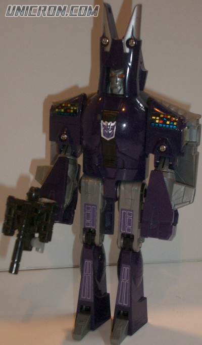 Transformers Generation 1 Cyclonus with Nightstick toy
