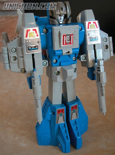 Transformers Generation 1 Highbrow with Gort toy