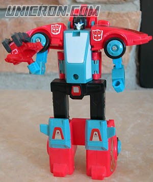 Transformers Generation 1 Pointblank with Peacemaker toy