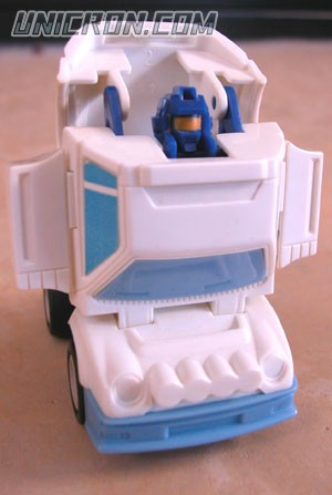 Transformers Generation 1 Searchlight (Throttlebot) toy