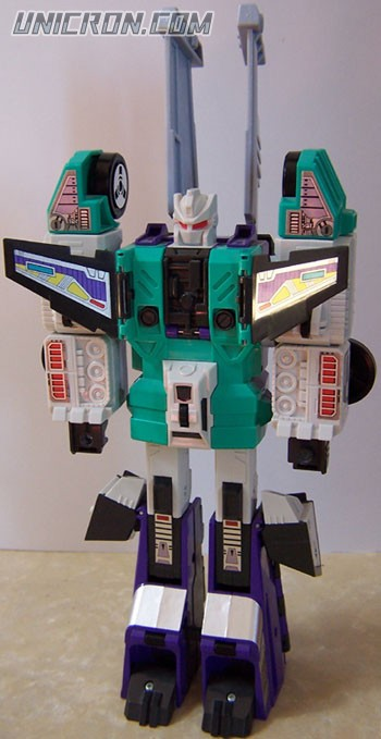 Transformers Generation 1 Sixshot toy