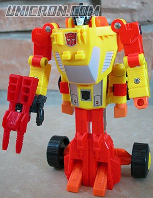 Transformers Generation 1 Sureshot with Spoilsport toy