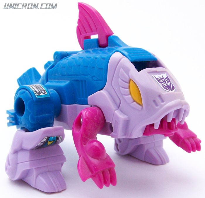 Transformers Generation 1 Skalor (Seacon) toy