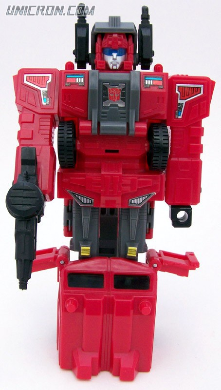 Transformers Generation 1 Hosehead (Headmaster) with Lug toy