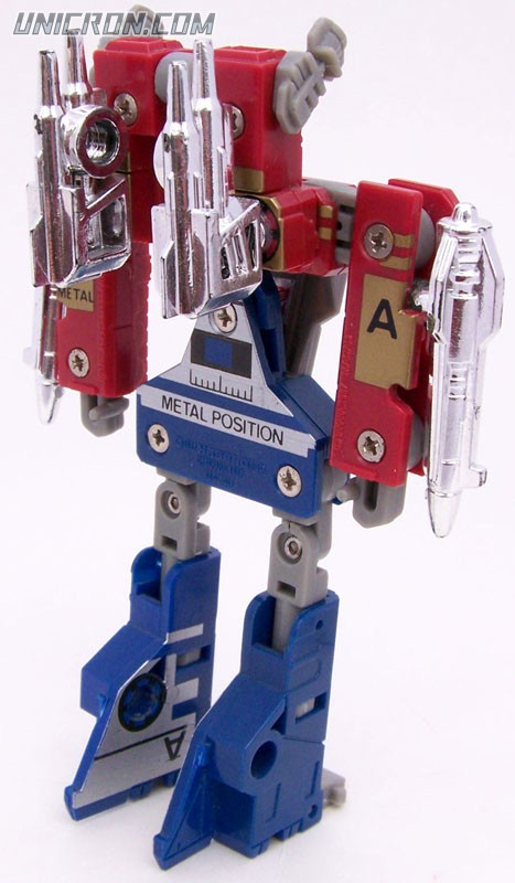 Transformers Generation 1 Slamdance (Grand Slam & Raindance) toy