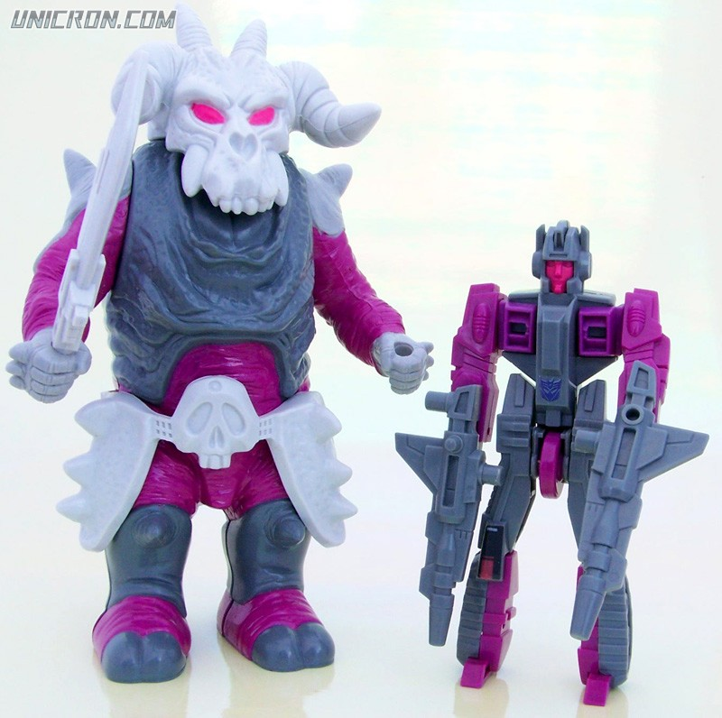 Transformers Generation 1 Skullgrin (Pretender) toy