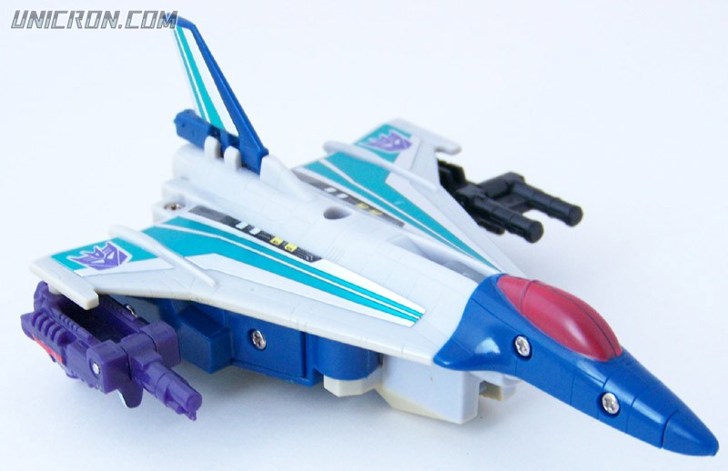 Transformers Generation 1 Needlenose (Targetmaster) with Zigzag and Sunbeam toy