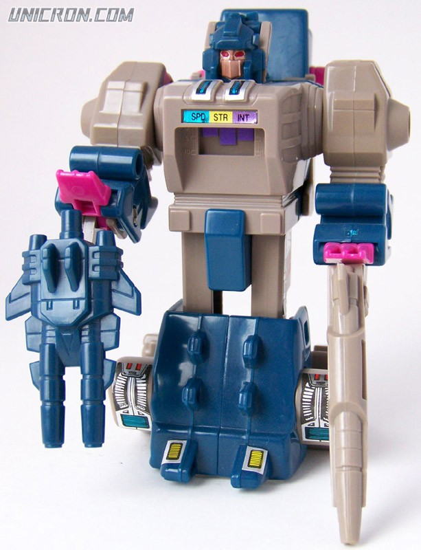 Transformers Generation 1 Horri-bull (Headmaster) with Kreb toy