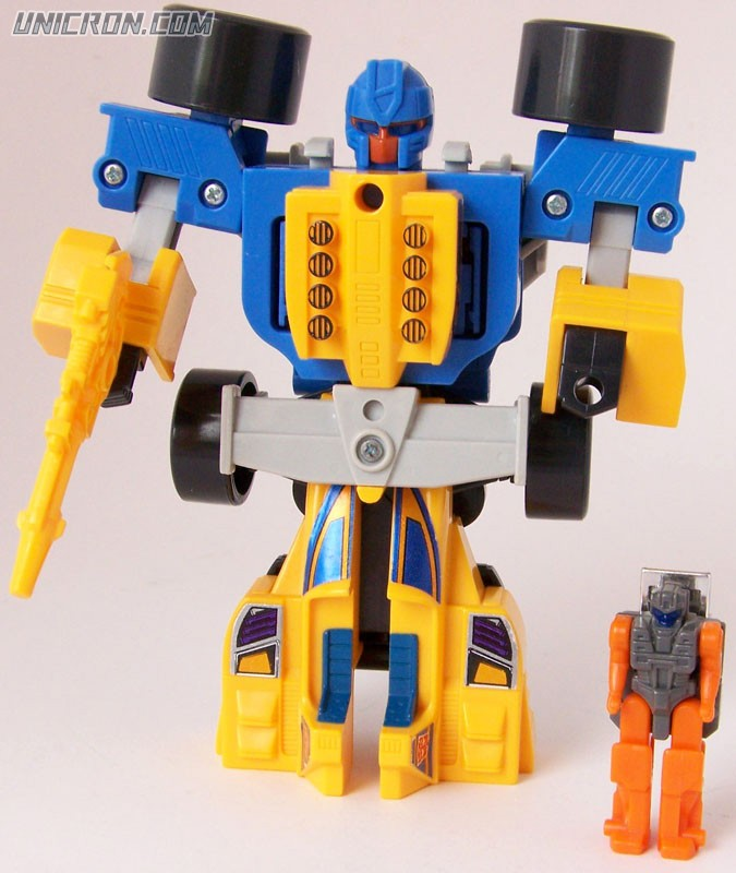 Transformers Generation 1 Slapdash (Powermaster) with Lube toy