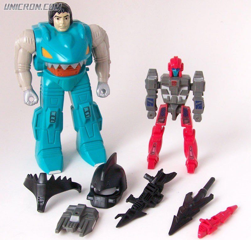 Transformers Generation 1 Splashdown (Pretender) toy