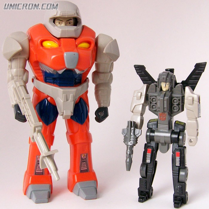 Transformers Generation 1 Groundbreaker (Pretender) toy