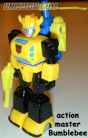 Transformers Generation 1 Bumblebee (Action Master) with Heli-Pack toy