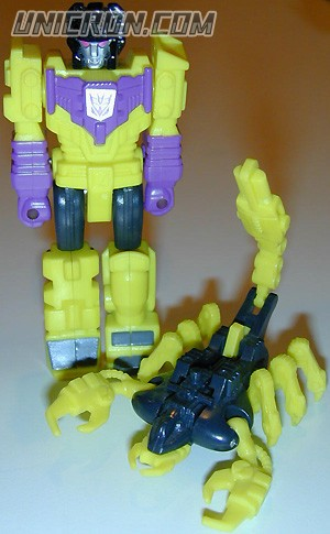 Transformers Generation 1 Devastator (Action Master - with Scorpulator) toy