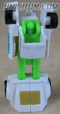 Transformers Generation 1 Micromaster Hot Rod Patrol (Big Daddy, Greaser, Hubs, Trip-Up) toy