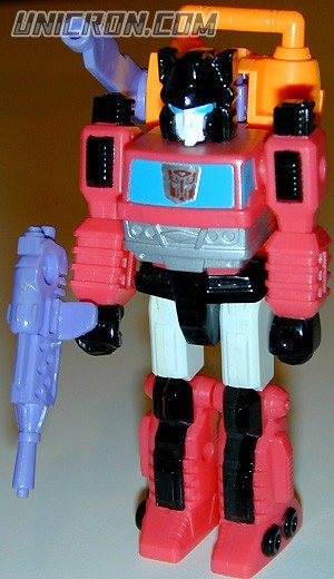Transformers Generation 1 Inferno (Action Master) with Hydro-Pack toy