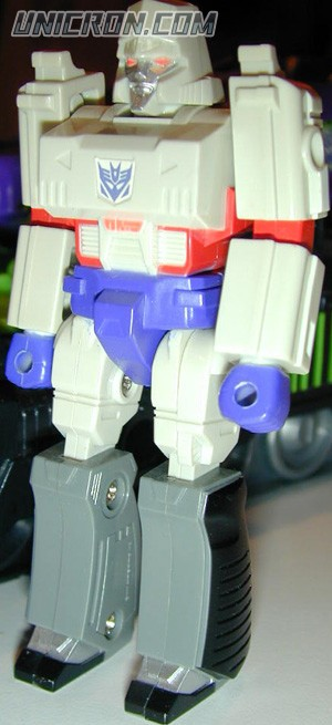 Transformers Generation 1 Megatron (Action Master) with Neutro-Fusion Tank toy