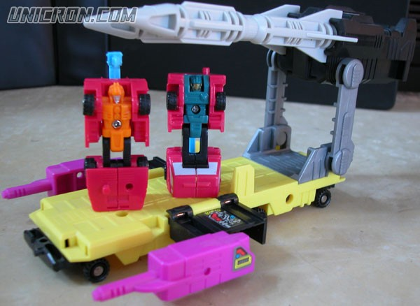 Transformers Generation 1 Micromaster Missile Launcher (combiner transport - Retro & Surge) toy