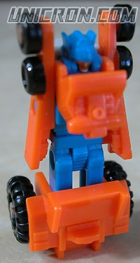 Transformers Generation 1 Micromaster Monster Trucks Patrol (Big Hauler, Heavy Tread, Hydraulic, Slow Poke) toy