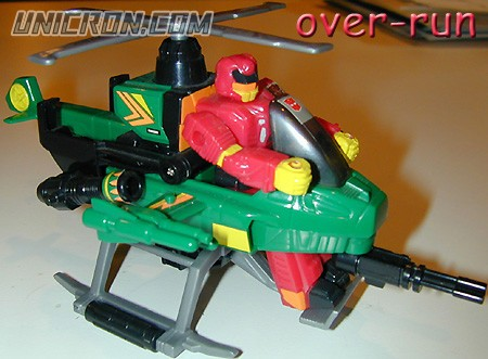 Transformers Generation 1 Over-Run (Action Master) toy