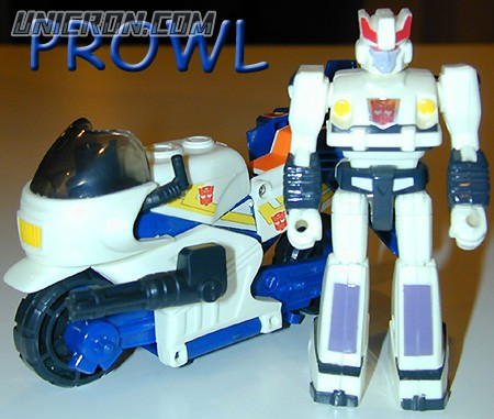Transformers Generation 1 Prowl (Action Master) toy