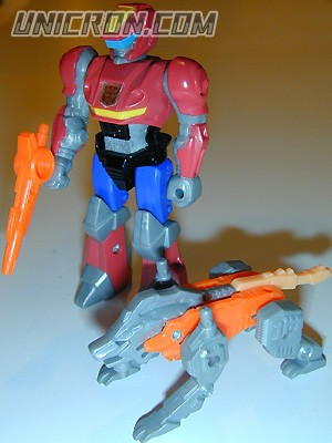 Transformers Generation 1 Rad (Action Master) with Lionizer toy