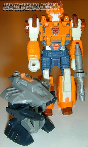 Transformers Generation 1 Rollout (Action Master) with Glitch toy