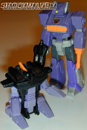 Transformers Generation 1 Shockwave (Action Master - with Fistfight) toy