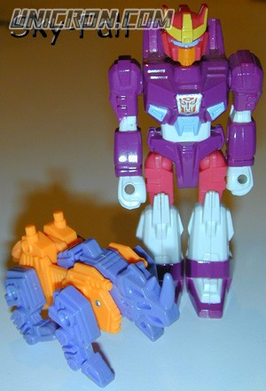 Transformers Generation 1 Skyfall (Action Master) with Top-Heavy toy