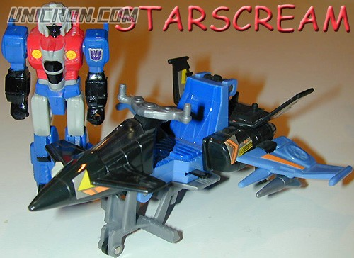 Transformers Generation 1 Starscream (Action Master) toy