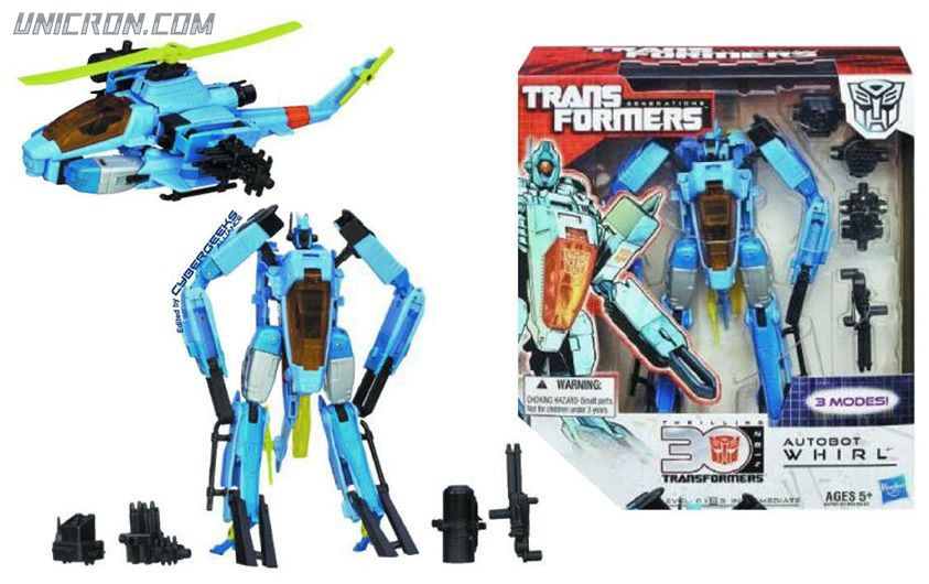 Transformers Generations Autobot Whirl toy
