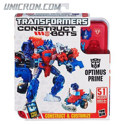 Transformers Construct-Bots Optimus Prime - Construct-bots Elite toy