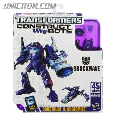Transformers Construct-Bots Shockwave - Construct-Bots, Elite toy