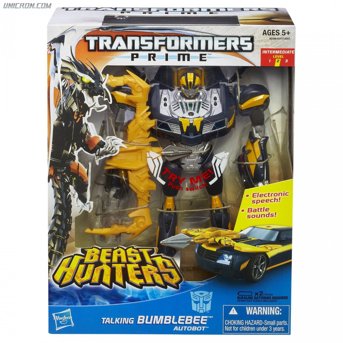 Transformers Prime Talking Bumblebee toy