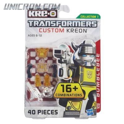 Transformers Kre-O Bumblebee (Custom Kreon Set) toy