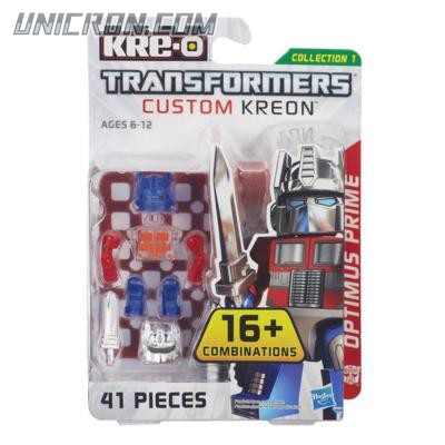 Transformers Kre-O Optimus Prime (Custom Kreon Set) toy