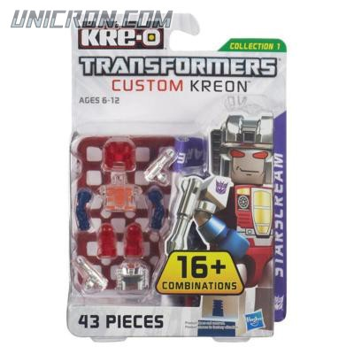 Transformers Kre-O Starscream (Custom Kreon Set) toy