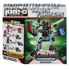 Transformers Kre-O Defensor (Blades, Protectobot First Aid, Protectobot Hot Spot and Protectobot Streetsmart), (Kre-O Microchanger Combiners) toy